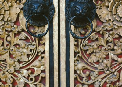 HG_Door detail at Honeymoon Guesthouse